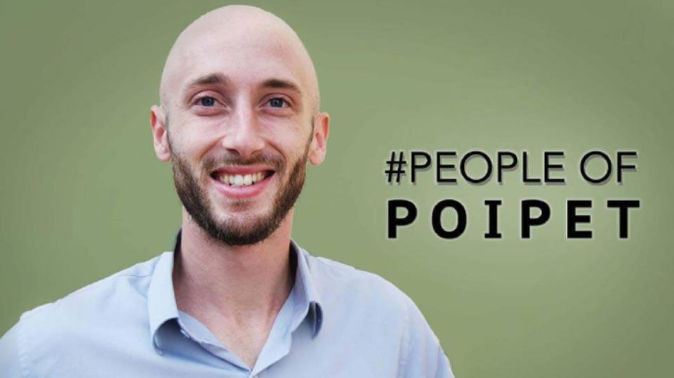 #poipet #meettheteam Eric Freitag